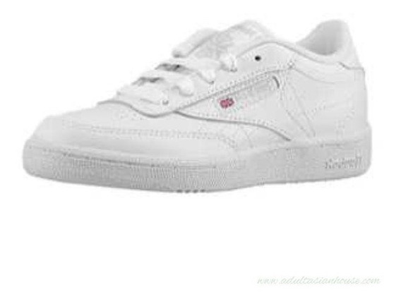 Reebok Club C Boys Casual Tenis Blanco Niño