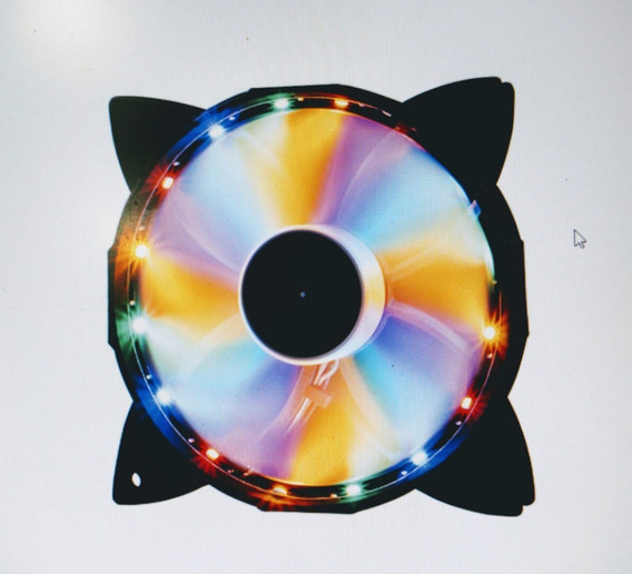 Cooler Fan 120 Mm Colorido F30 Oex Rgb
