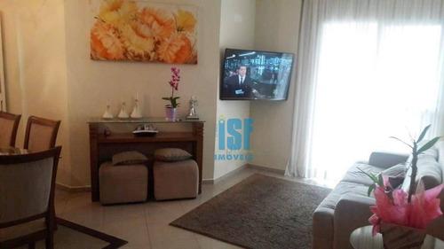 Imagem 1 de 30 de Apartamento Centro De Osasco  3 Dormitórios À Venda, 92 M² Por R$ 520.000 - Centro - Osasco/sp - Ap25291