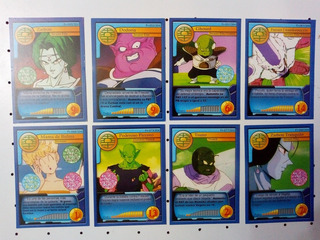 Figuritas Cartas Dragon Ball Z Budocai Scouter Lote X 10