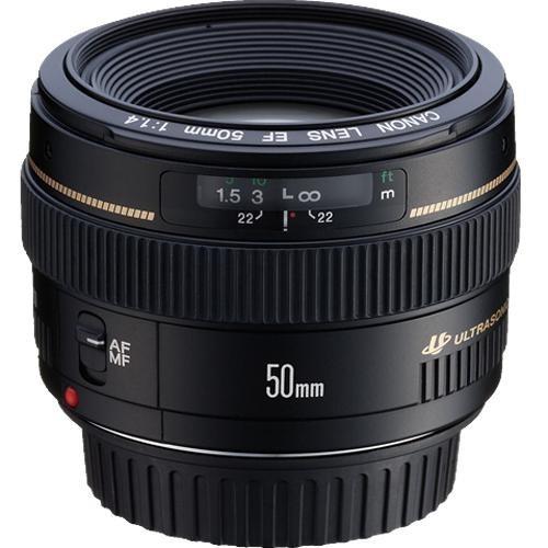 Lente Canon 50mm F/1.4 Usm Pronta Entrega Garantia De 1 Ano
