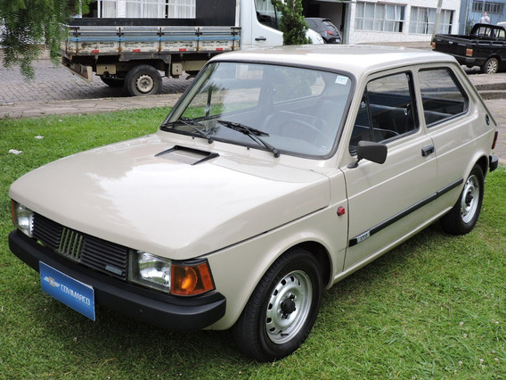 Fiat 147 C 1300 1986 Bege Completamente Original Sem Detalhe