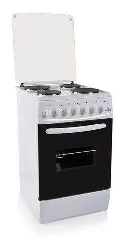 Cocina Electrica Delne 4 Discos Te-5604-w Blanca Yanett