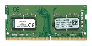 Memoria RAM 4GB 1x4GB Kingston KVR24S17S6/4