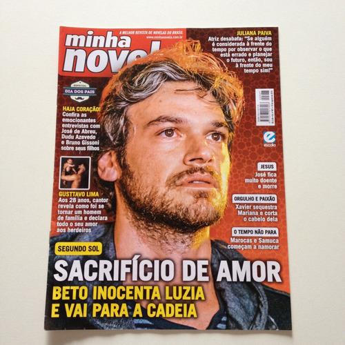 Revista Minha Novela Segunda Sol Emilio Dantas   A155