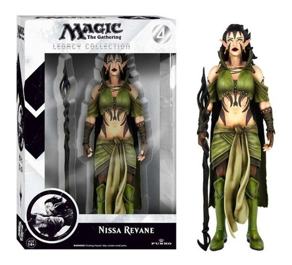 Nissa Revane Magic The Gathering Boneco Funko Game Ps3 Xbox
