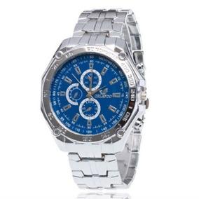 Relógio Masculino Analógico , Aço.azul