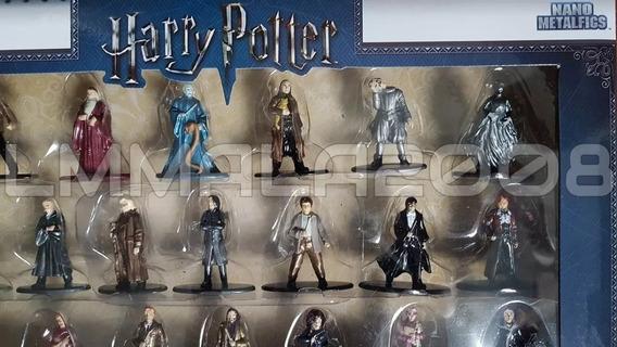 Coleção 20 Bonecos Harry Potter Nano Metalfigs Jada Original