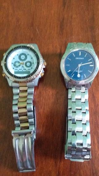 Kit Com 2 Relógios Originais