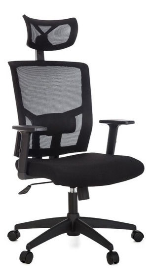 Cadeira Presidente Escritório Apoio De Lombar Com Regulagem