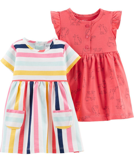 Ropa Bebe Niña Carters Set Vestidos