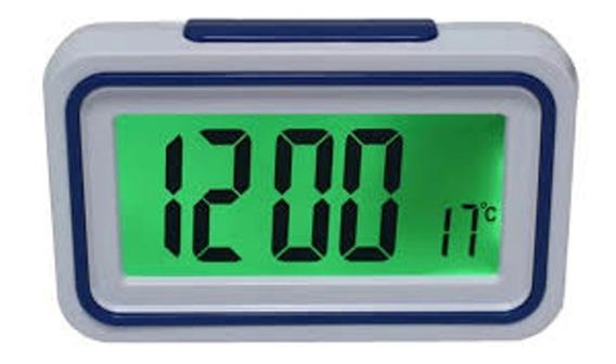 Relógio Despertador Fala Hora Deficiente Visual