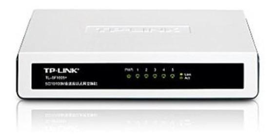 Switch Tp-link 5 Puertos Tl-sf1005d 10/100 Mbps 5 Puertos