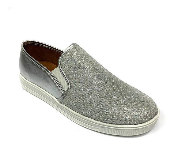 Zapatos Sneakers Fanny Stile Dama Beige Fs 0812 Corpez 32