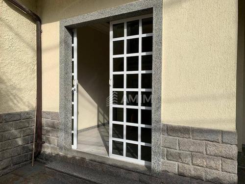 Excelente Casa (comercial / Residencial) No Centro De Niterói, 04 Quartos E 01 Vaga. Perto Do Catamarã E Faculdades! - Ca0599