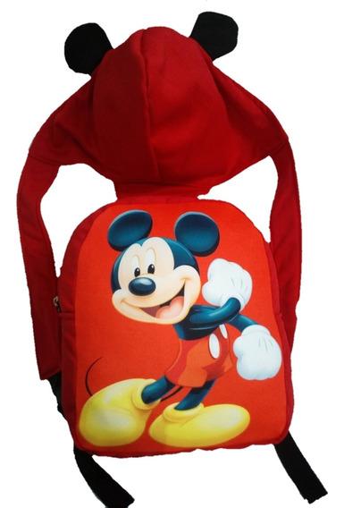 Capumochila Mickey De Diseño