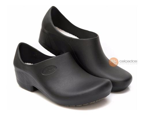 b4d7328af Sapato Antiderrapante Sticky Shoe Woman Preto - R$ 59,90 em Mercado Livre
