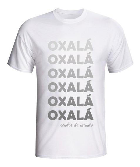 Camiseta Umbanda Candombé Axé Orixá Oxalá