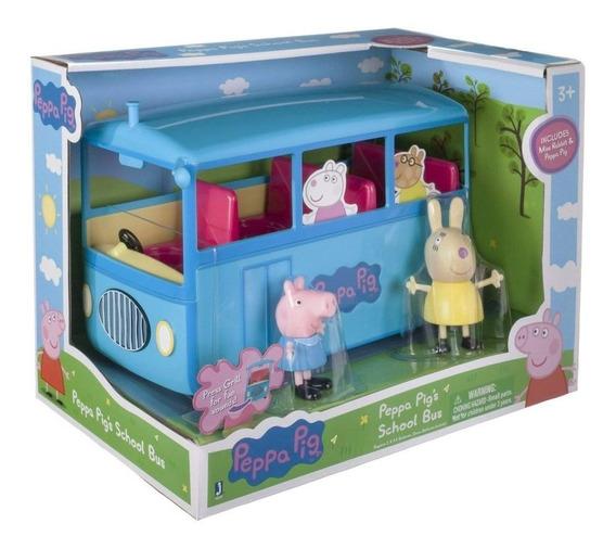 Brinquedo Peppa Pig Ônibus Escolar 4606