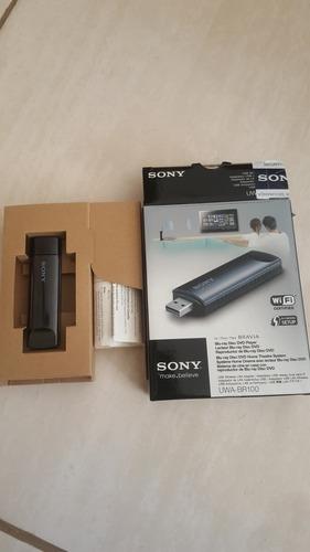 Adaptador Wi-fi Internet Sem Fio Sony Usb Uwa-br100 Wireless