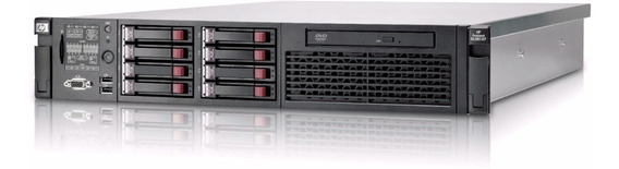 Hp Proliant Dl380 G7 2 Xeon Quad Core 32 Gb 600gb + Trilhos