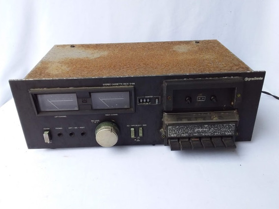 Antigo Tape Deck Gradiente S-106 (cod.4914)