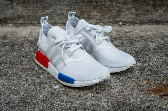 Nmd R1 White/red/blue