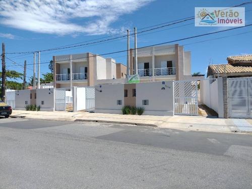 Sobrado Com 3 Dormitórios À Venda, 115 M² Por R$ 480.000,00 - Balneário Tupy - Itanhaém/sp - So0174