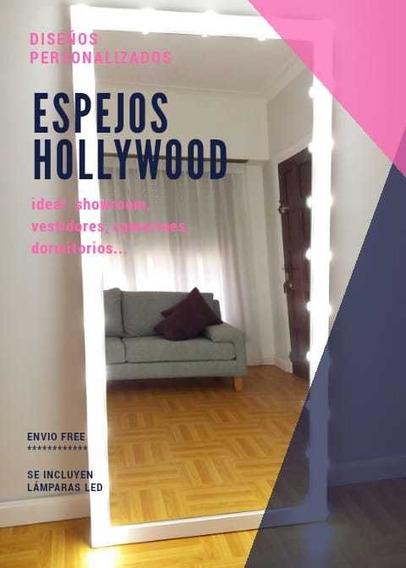 Espejo Hollywood Maquillaje 180x80 + Luces Led + Envíogratis