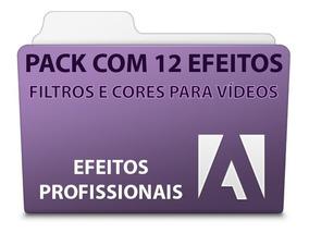 Pack 12 Efeitos De Filtros Para Vídeos - Adobe Premiere