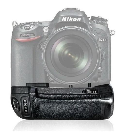 Grip Bateria Vertical P/ Nikon D7100 D7200 Dslr Fotografia