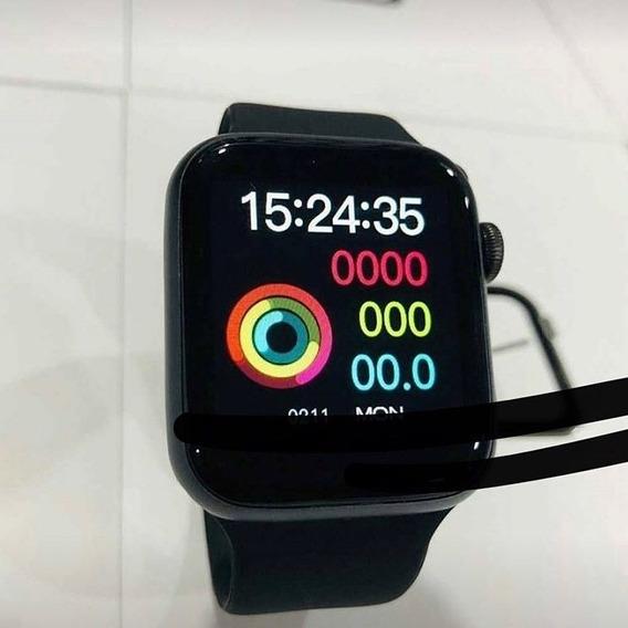 Smartwatch Iwo 8 Lite Preto Relógio Inteligente Faz Ligação