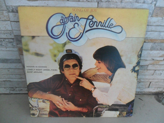 Captain & Tennille =song Of Joy . Lp.vinil . Com Encarte