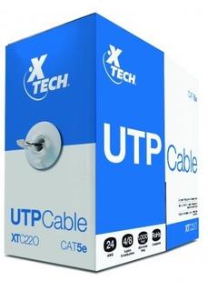 Caja De Cable Utp Marca Xtech 305 Metros