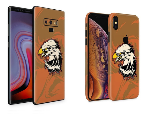 Skin White Eagle Apple Samsung Huawei Lg Sony Xiaomi Etc