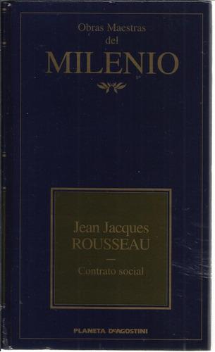 El Contrato Social-jean Rousseau-tapa Dura-6ctas