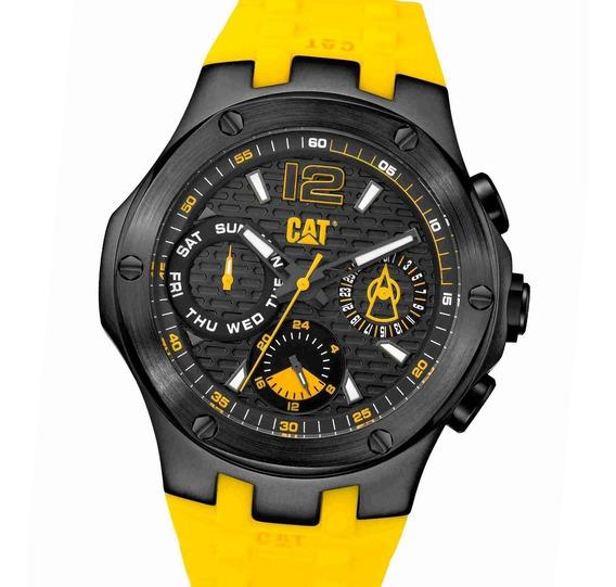 Reloj Caterpillar A116927131 Multifunción Acero Silicona Cat