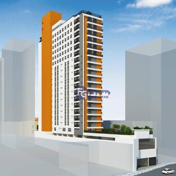 Studio Com 1 Dormitório À Venda, 41 M² Por R$ 362.000,00 - Centro - Curitiba/pr - St0021