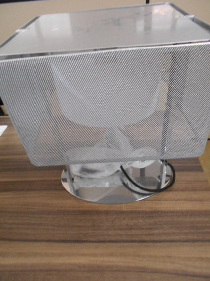 Abajur Luminária Conexion Quadrado Startec -em Aço 110390002