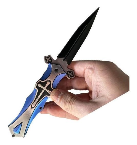 Punhal Adaga Faca Canivete Templário A Cruz E Espada Maçom2