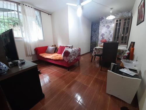 Apartamento Com 2 Quartos, 54 M² Por R$ 180.000 - Alcântara - São Gonçalo/rj - Ap46905