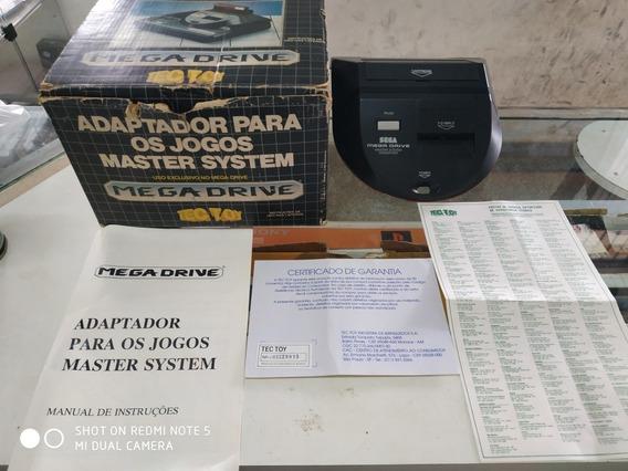 Adaptador Para Jogos Master Sistem No Mega Drive Com Um Jogo