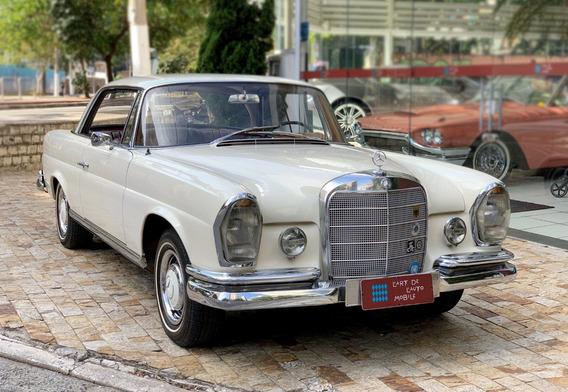 Mercedes-benz Coupé 220 Se - 1965 (charuto)