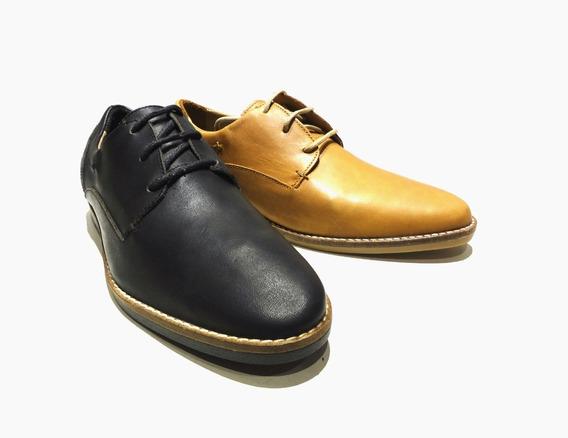 Zapatos Narrow Unltd Vestir Informal Cuero Vacuno Hombre