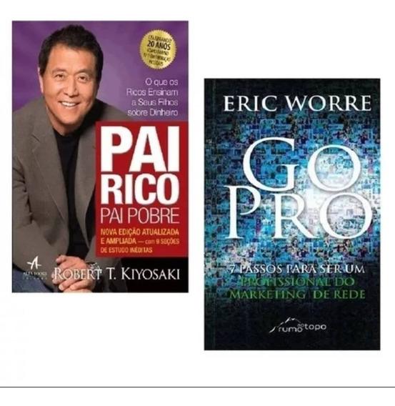 Livros Pai Rico,pai Pobre + Go Pro