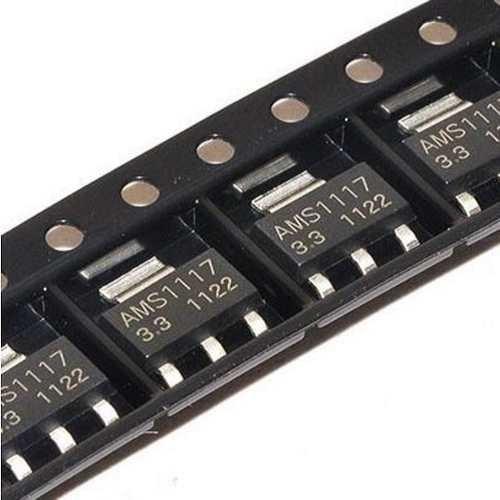 10 Unidades Ams1117 Reg. Tensão Smd 3.3v 1a Sot-223 Esp8266