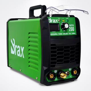 Máquina De Solda Inversora Tig Mma 200a - Bivolt - Brax