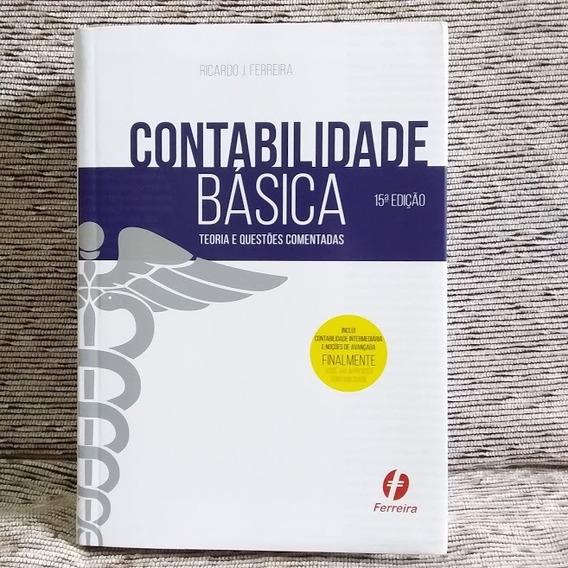 Frete Grátis Livro Contabilidade Básica Ricardo Ferreira
