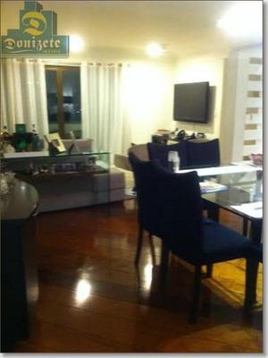 Apartamento Com 149m2 - 3 Dormitórios - 2 Vagas Para Venda No Jardim Bela Vista. - Ap5278