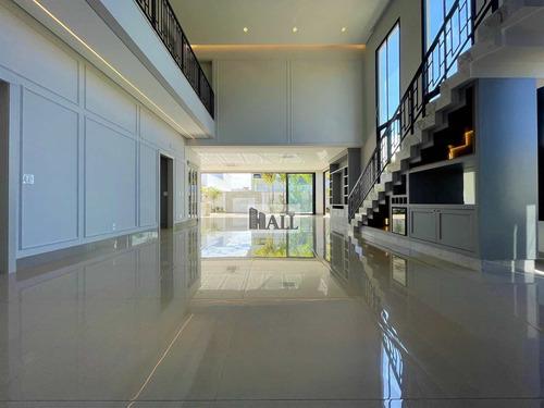 Imagem 1 de 30 de Casa À Venda Condomínio Quinta Do Golfe Com 4 Quartos E 6 Vagas - V8462